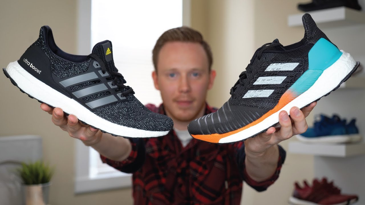 ADIDAS SOLARBOOST VS ULTRA BOOST COMPARISON - ADIDAS SOLARBOOST VS ULTRA BOOST COMPARISON