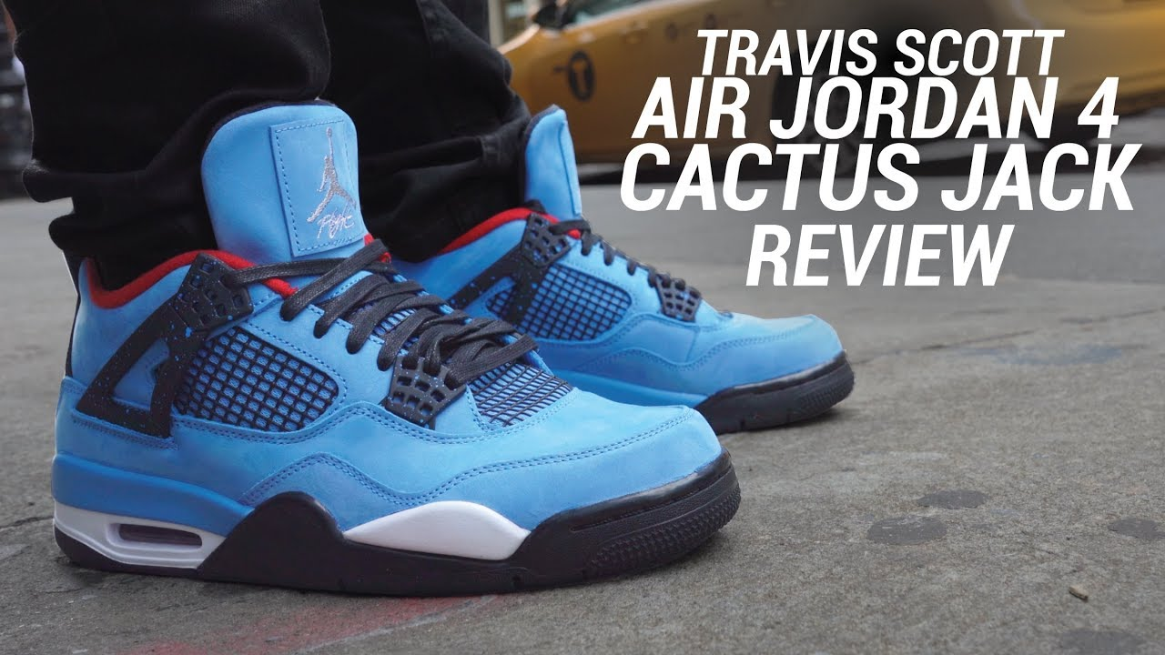 AIR JORDAN 4 TRAVIS SCOTT CACTUS JACK REVIEW - AIR JORDAN 4 TRAVIS SCOTT CACTUS JACK REVIEW