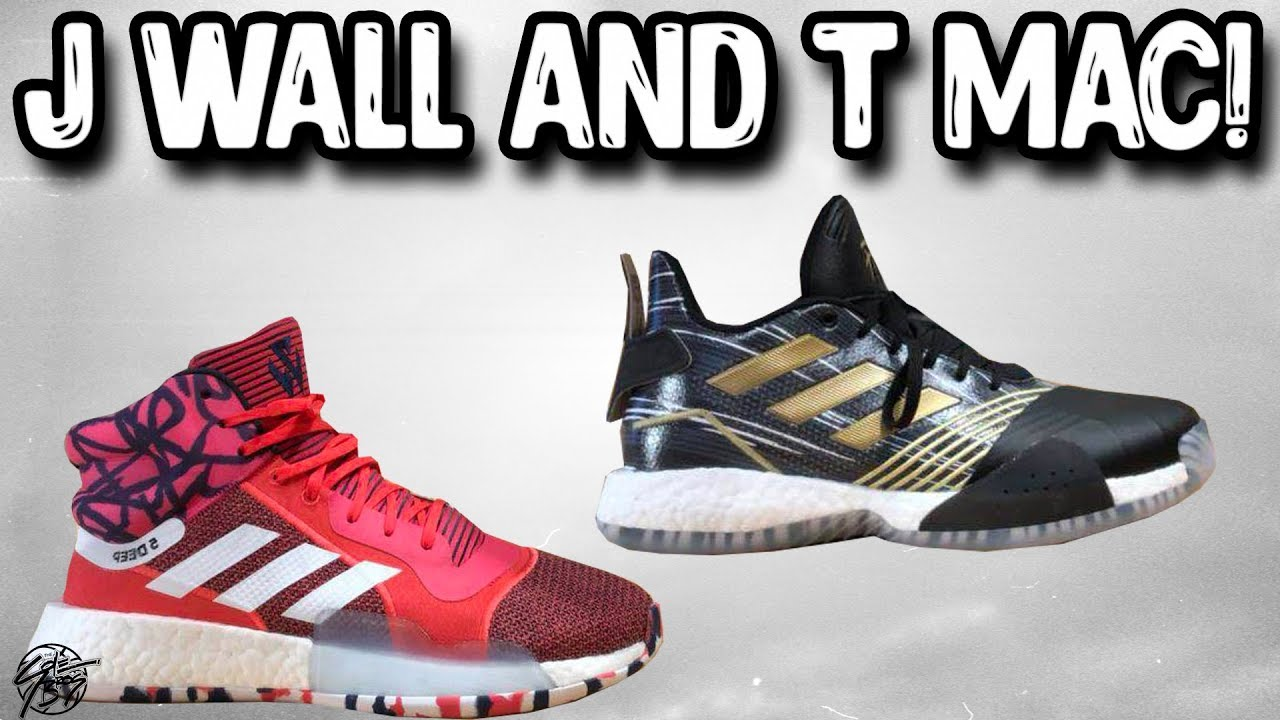 Adidas is Releasing John Wall T Mac Basketball Shoes - Adidas is Releasing John Wall & T Mac Basketball Shoes!