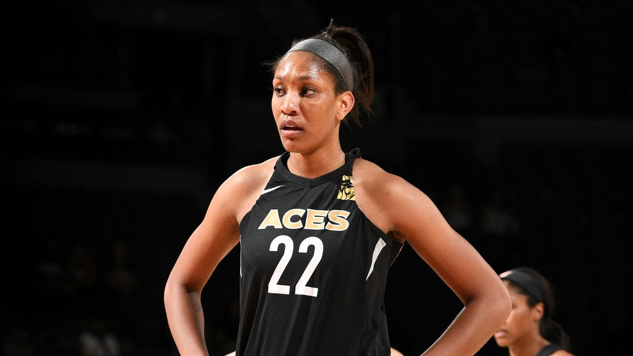 Aja Wilson 29 PTS Guides Aces to Victory Over Sparks - A'ja Wilson (29 PTS) Guides Aces to Victory Over Sparks