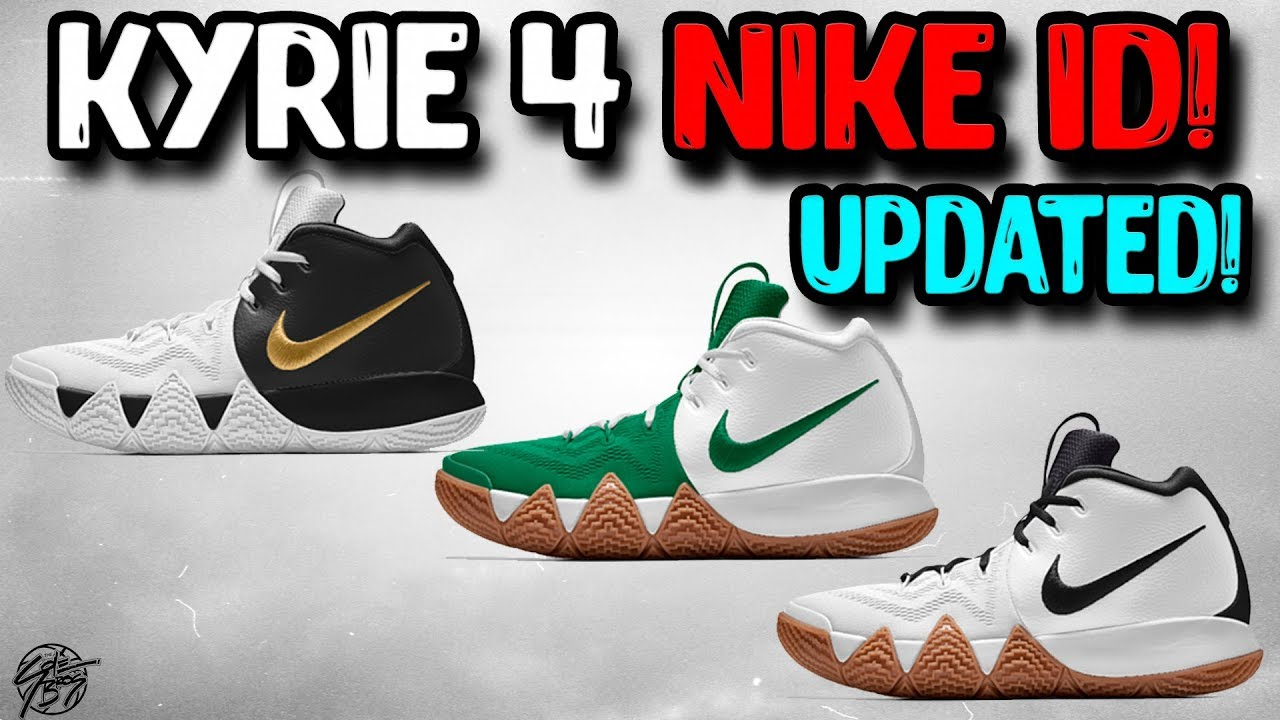Designing the UPDATED Kyrie 4 on NIKE ID Still the Same Price - Designing the UPDATED Kyrie 4 on NIKE ID! Still the Same Price!