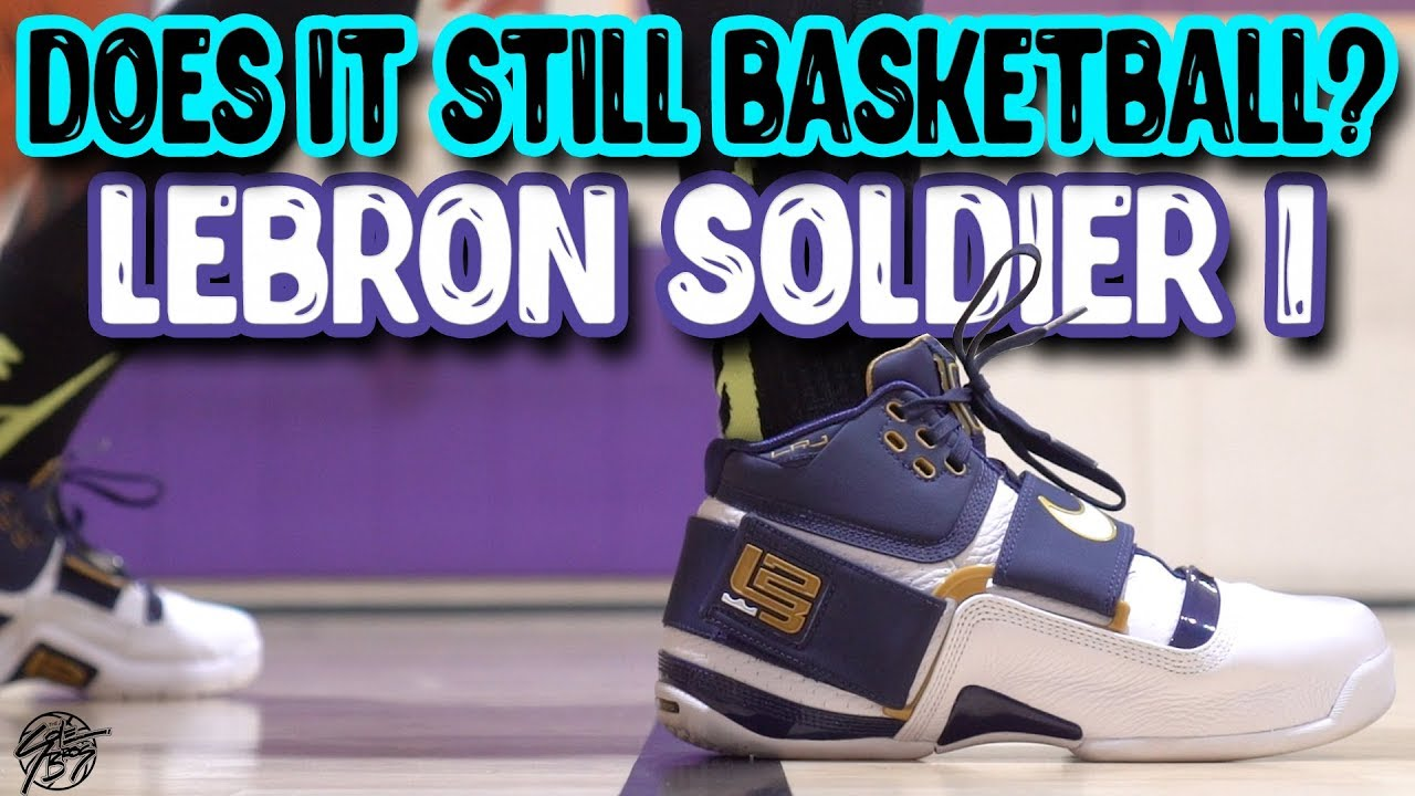 Does It Still Basketball Nike Lebron Soldier 1 - Does It Still Basketball? Nike Lebron Soldier 1!