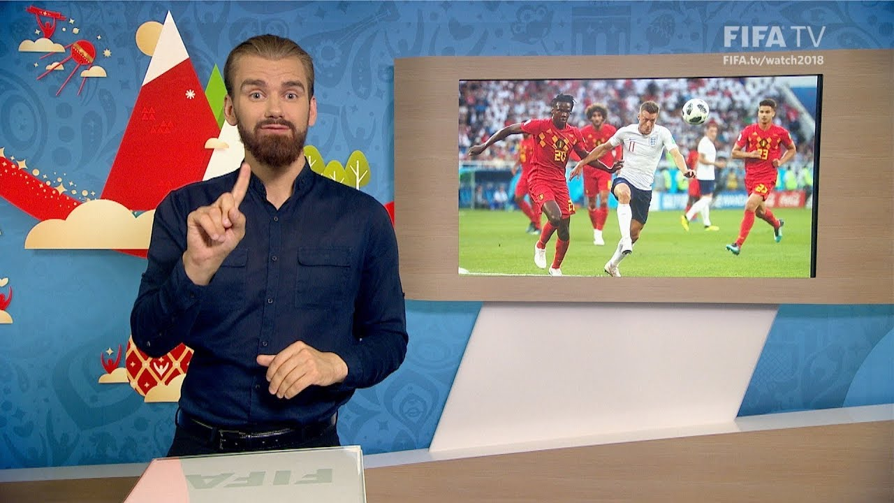 FIFA WC 2018 ENG vs. BEL for Deaf and Hard of Hearing International Sign - FIFA WC 2018 - ENG vs. BEL – for Deaf and Hard of Hearing - International Sign