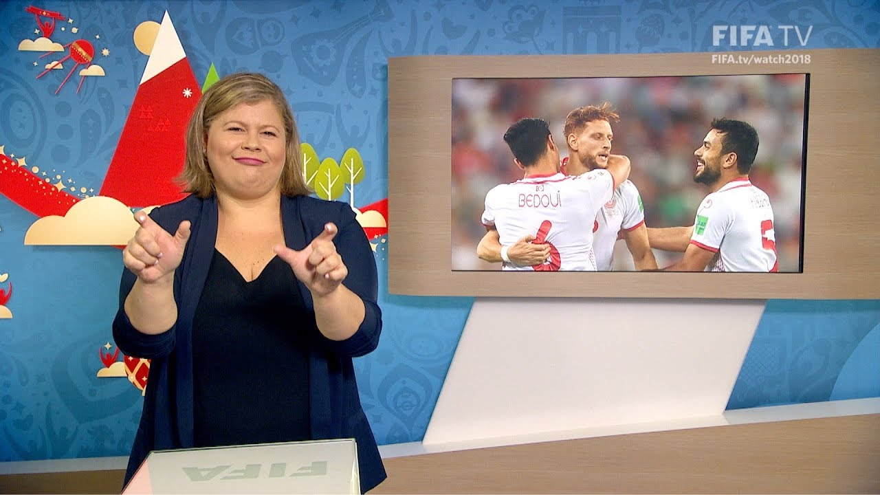 FIFA WC 2018 PAN vs. TUN for Deaf and Hard of Hearing International Sign - FIFA WC 2018 - PAN vs. TUN – for Deaf and Hard of Hearing - International Sign