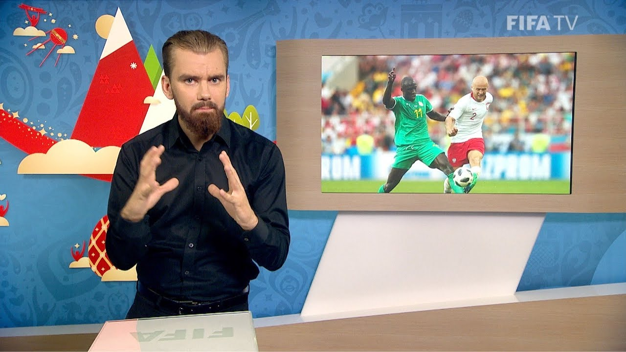 FIFA WC 2018 POL vs. SEN for Deaf and Hard of Hearing International Sign - FIFA WC 2018 - POL vs. SEN – for Deaf and Hard of Hearing - International Sign