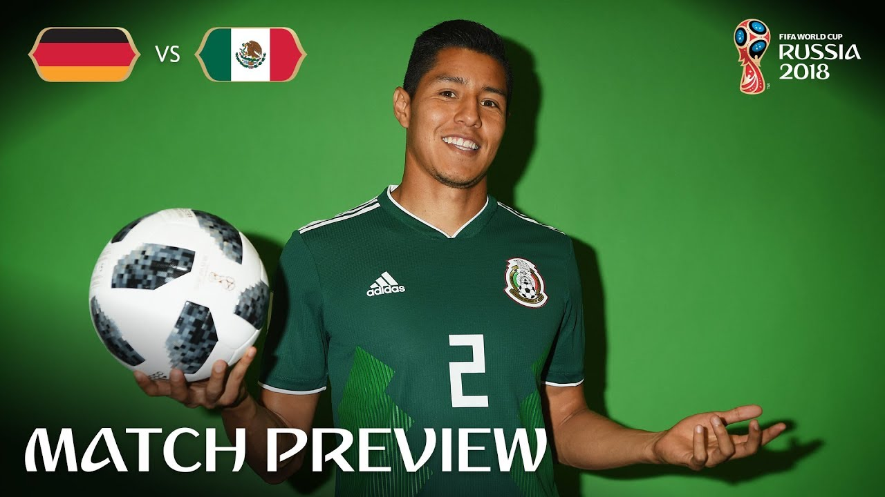 Hugo Ayala Mexico Match 11 Preview 2018 FIFA World Cup - Hugo Ayala (Mexico) - Match 11 Preview - 2018 FIFA World Cup™