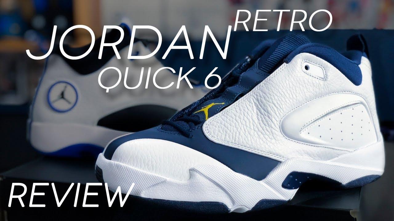 JORDAN JUMPMAN QUICK 6 RETRO REVIEW JORDAN QUICK 23 - JORDAN JUMPMAN QUICK 6 RETRO REVIEW | JORDAN QUICK 23