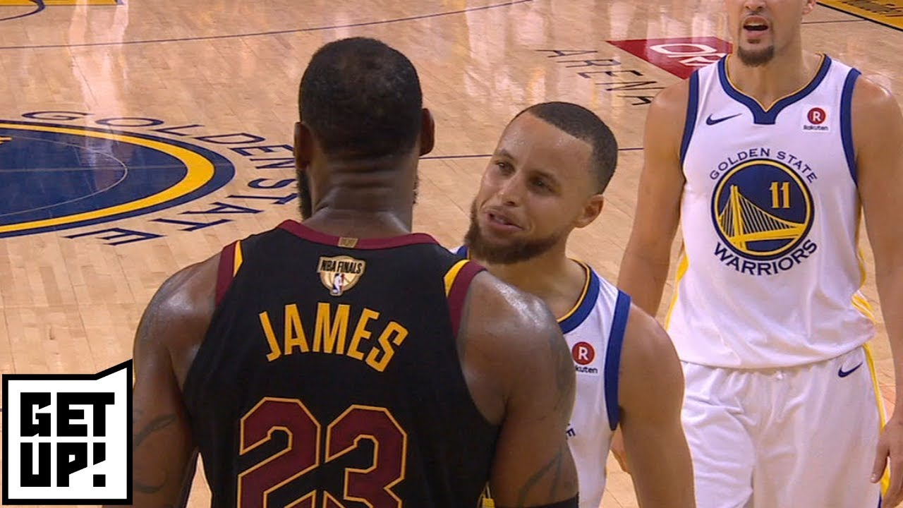 "Jay Williams points out how Steph Currys evil side provoked LeBron James Get Up ESPN - Jay Williams points out how Steph Curry's ""evil side"" provoked LeBron James 
