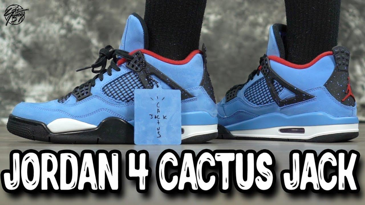 Jordan 4 Retro x Travis Scott Cactus Jack Overview - Jordan 4 Retro x Travis Scott Cactus Jack Overview!