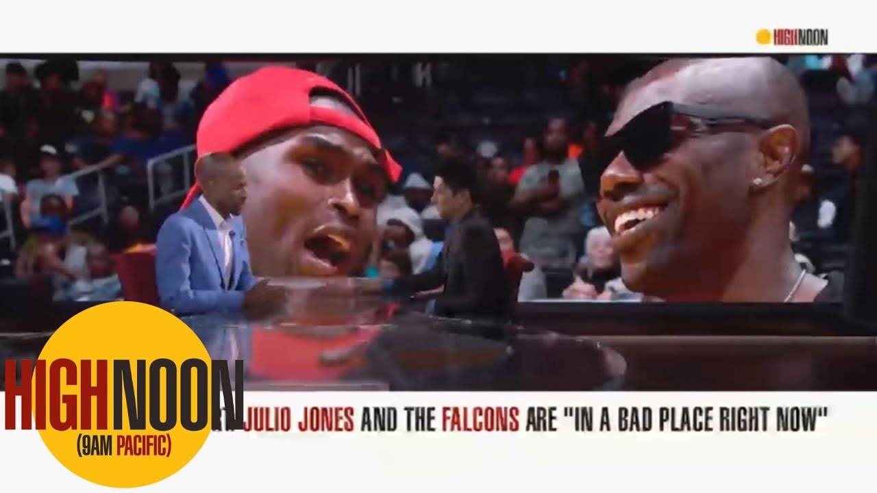 Julio Jones is working out with the holdout whisperer Terrell Owens High Noon ESPN - Julio Jones is working out with 'the holdout whisperer' Terrell Owens | High Noon | ESPN