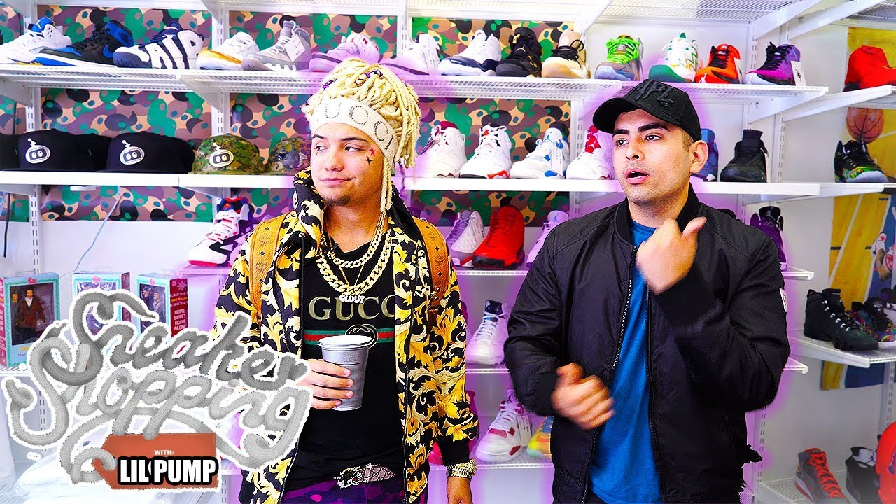 LIL PUMP GOES SNEAKER SHOPPING WITH COMPLEX PARODY - LIL PUMP GOES SNEAKER SHOPPING WITH COMPLEX! (PARODY)