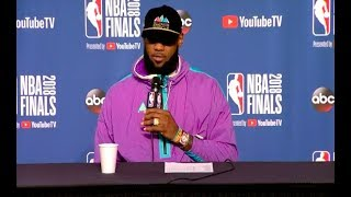 LeBron James Game 3 NBA Finals Press Conference - LeBron James | Game 3 NBA Finals Press Conference