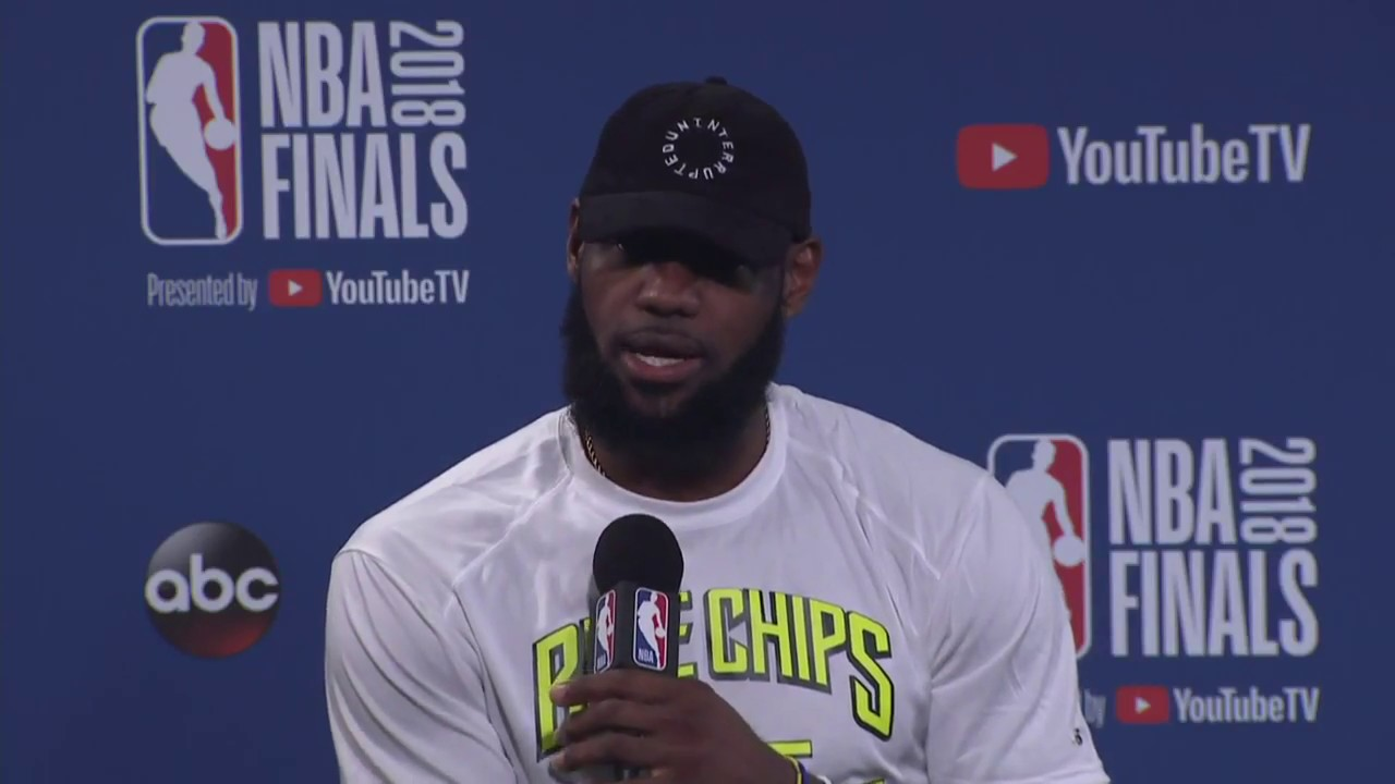 LeBron James Kevin Love Interview NBA Finals Game 2 Media Availability - LeBron James & Kevin Love Interview    NBA Finals Game 2 Media Availability