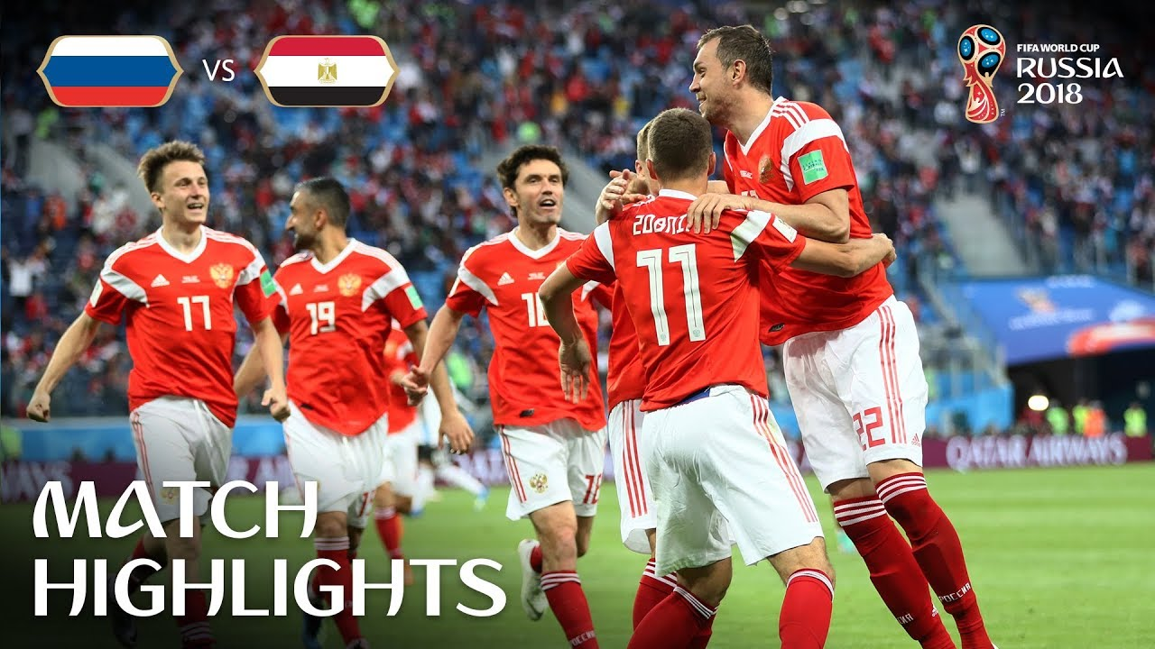 Russia v Egypt 2018 FIFA World Cup Russia Match 17 - Russia v Egypt - 2018 FIFA World Cup Russia™ - Match 17