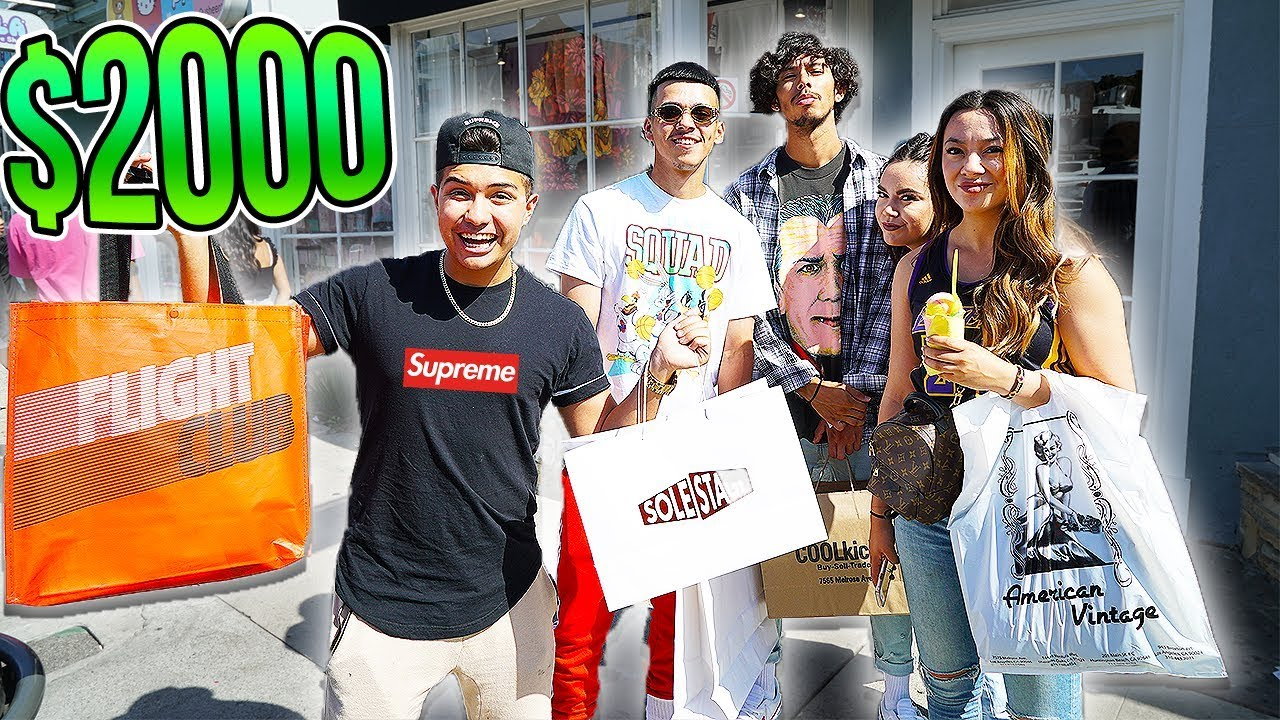 STRANGERS PICK MY 2000 HYPEBEAST OUTFIT WITH AZAR SUPREME BAPE YEEZY - STRANGERS PICK MY $2000 HYPEBEAST OUTFIT WITH AZAR (SUPREME, BAPE, YEEZY)