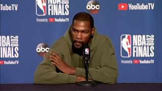 Stephen Curry Kevin Durant Interview NBA Finals Game 4 Media Availability - Stephen Curry & Kevin Durant Interview | NBA Finals Game 4 Media Availability