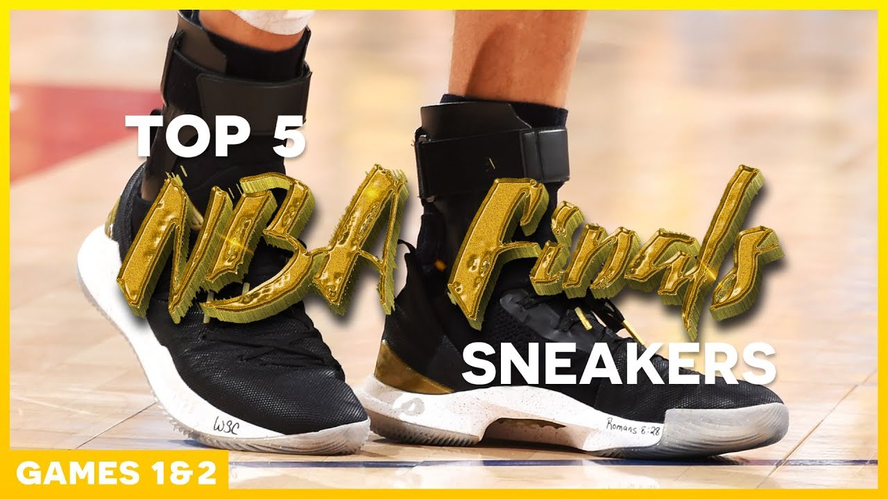 Top 5 Sneakers of the 2018 NBA Finals Games 1 2 - Top 5 Sneakers of the 2018 NBA Finals (Games 1 & 2)
