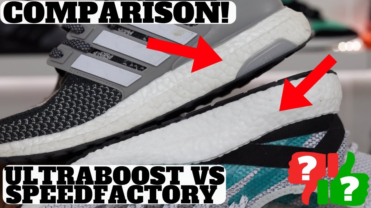 Which Is Better adidas ULTRABOOST vs SPEEDFACTORY AM4LDN - Which Is Better? adidas ULTRABOOST vs SPEEDFACTORY AM4LDN