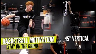 "Basketball Motivation BELIEVE IN THE GRIND All Hoopers MUST WATCH Nico Mannion VERTICAL  - Basketball Motivation!! ""BELIEVE IN THE GRIND"" All Hoopers MUST WATCH! + Nico Mannion VERTICAL 👀"