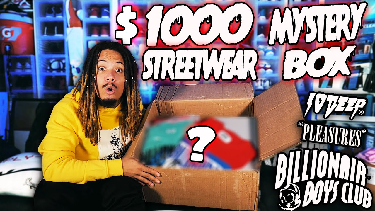 I BOUGHT A 1000 STREETWEAR MYSTERY BOX  - I BOUGHT A $1000 STREETWEAR MYSTERY BOX !!!