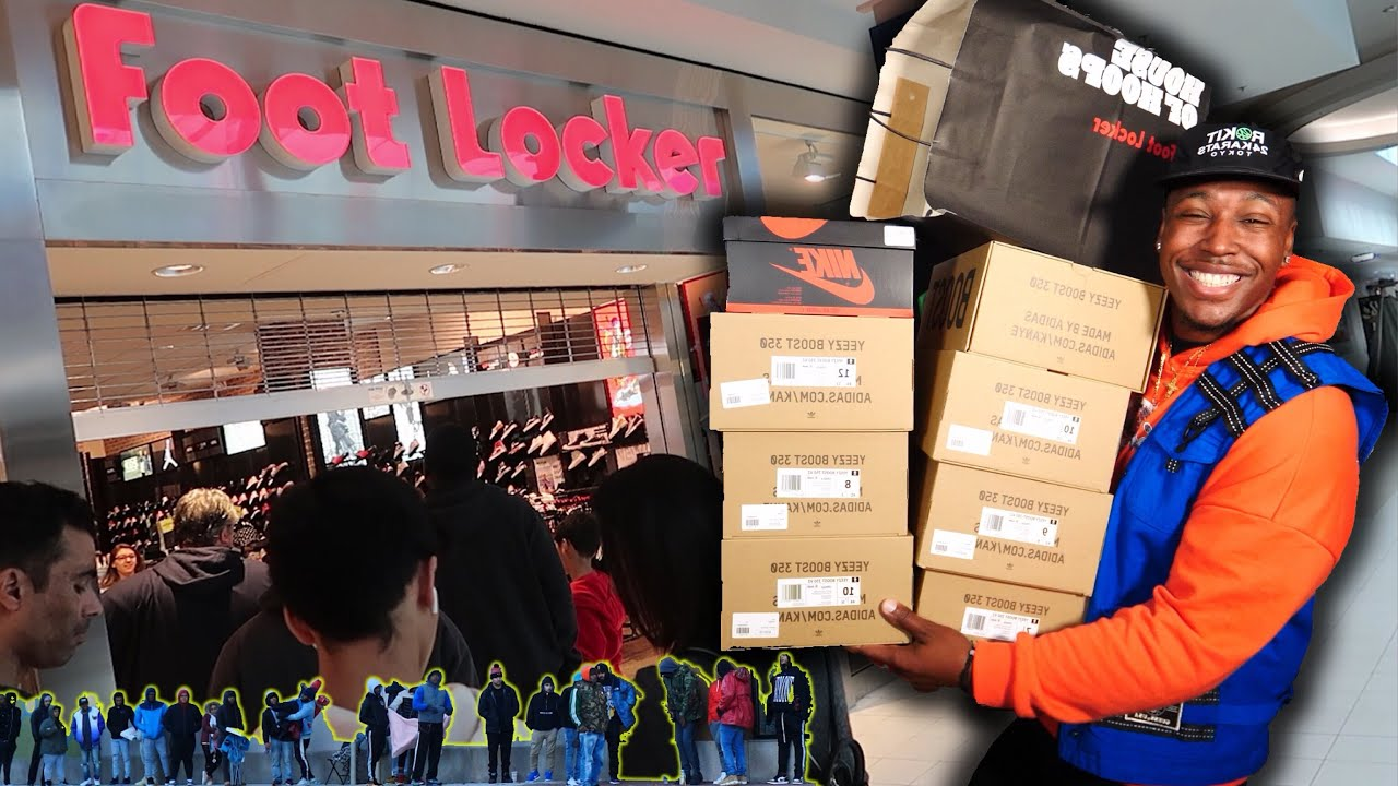 SNEAKER SHOPPING SPREE AT THE MALL 9 NEW PICKUPS CAMPOUT FOOTAGE ALMOST CAUGHT AN L - SNEAKER SHOPPING SPREE AT THE MALL! 9 NEW PICKUPS & CAMPOUT FOOTAGE! ALMOST CAUGHT AN L!